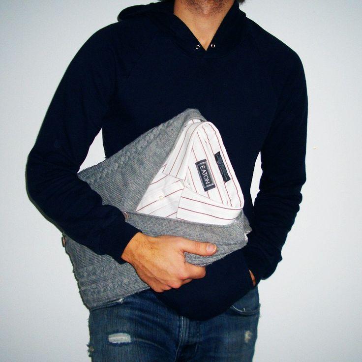 Сумки и чехлы для ноутбуков из мужской одежды