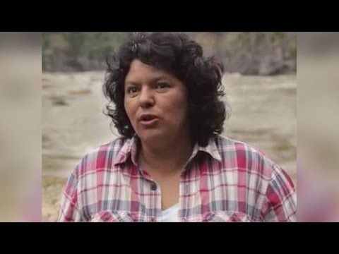 Part 2: Exposé Shows Environmental Activist Berta Cáceres Topped Kill List of U.S.-Trained Assassins - YouTube