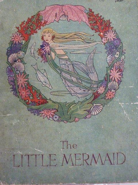 Book Cover Vintage Yoga : The little mermaid mermaids pinterest