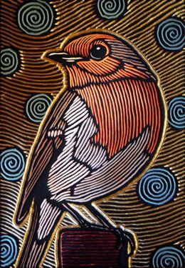 large robin, via Flickr.