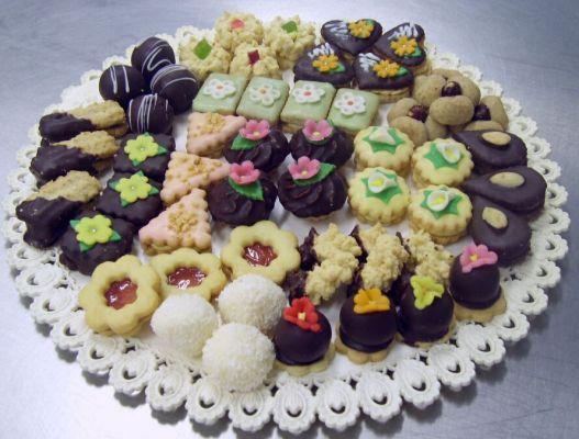 Svatební dorty   cukroví
