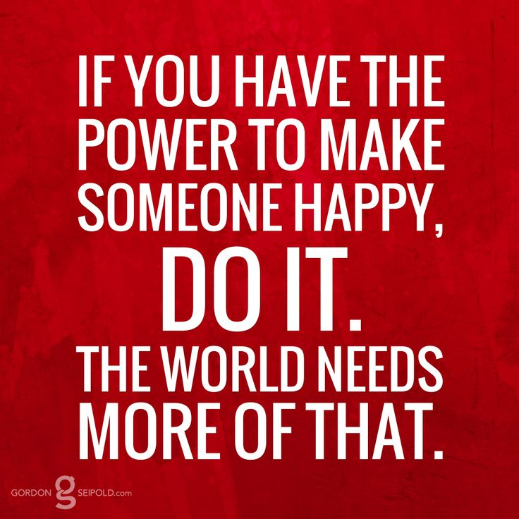 making others happy makes us happy Studies show that money does make people happier, but only up to a point  beyond a certain level, additional income yields hardly any.