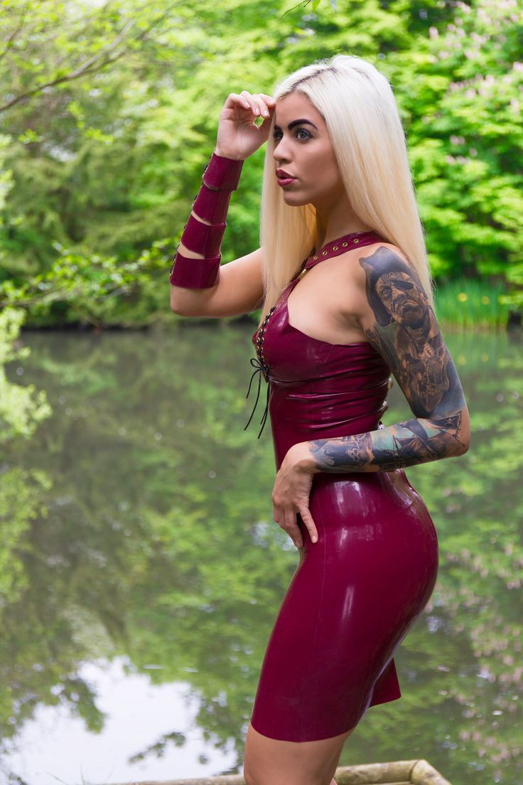 Latex Letter%0A Sexy Latex Fetish photoshoot  Kaoris Latex Dreams dress Jessica Wolf   tattoo  pirate