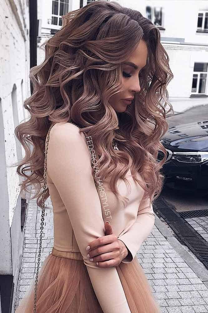 68 superbes coiffures de bal pour cheveux longs en 2019