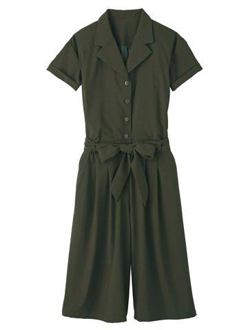 ガウチョオールインワン ワンピース・チュニック | 女性ファッション通販サイトFABIA(ファビア)