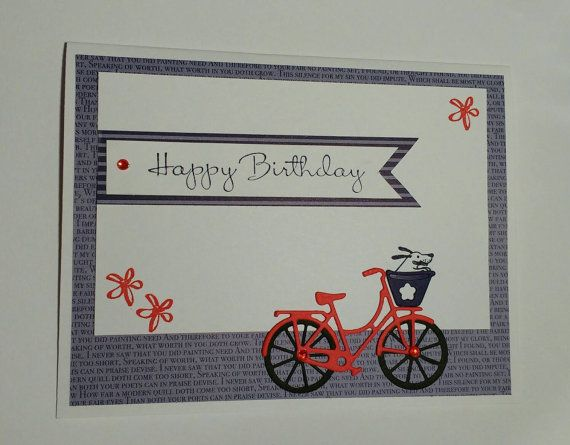 Check out this item in my Etsy shop https://www.etsy.com/ca/listing/479042459/birthday-card-bicycle-birthday-card