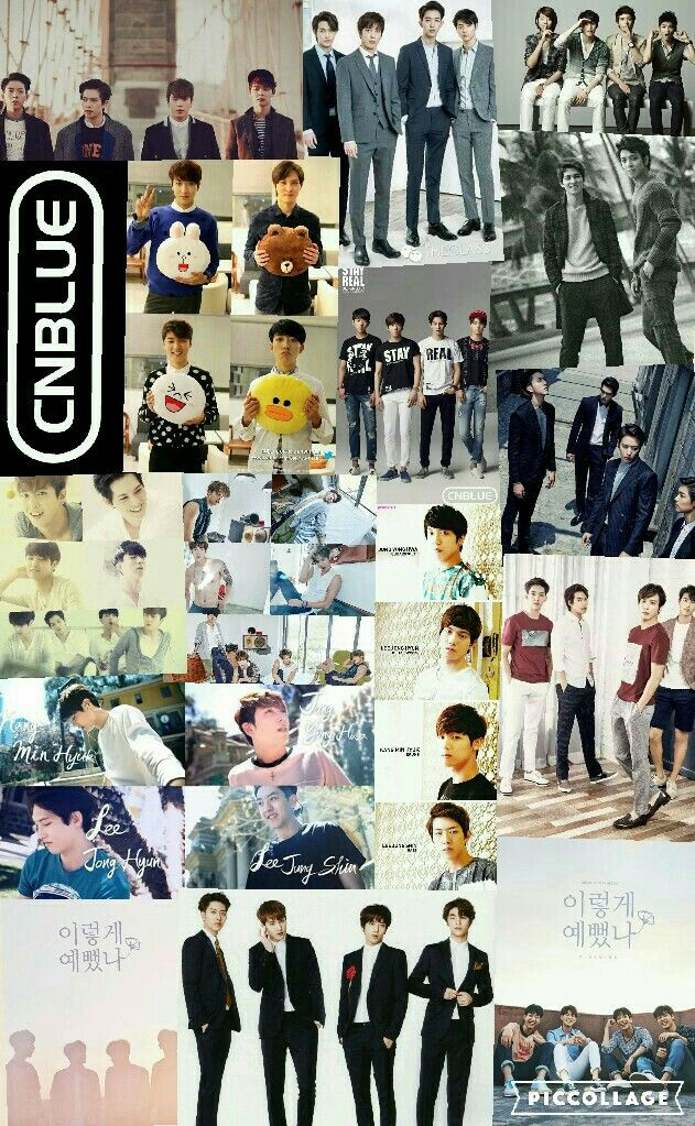 CNBLUE  (collage)