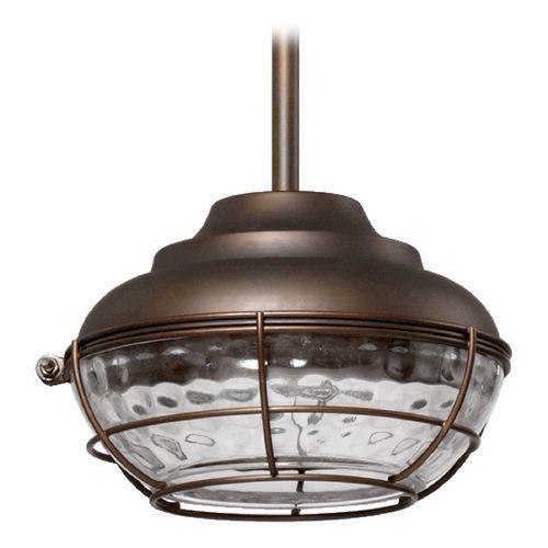 Quorum lighting hudson oiled bronze outdoor hanging light