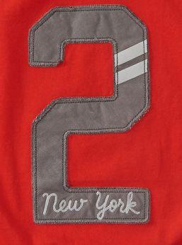 New York Varsity Number Applique