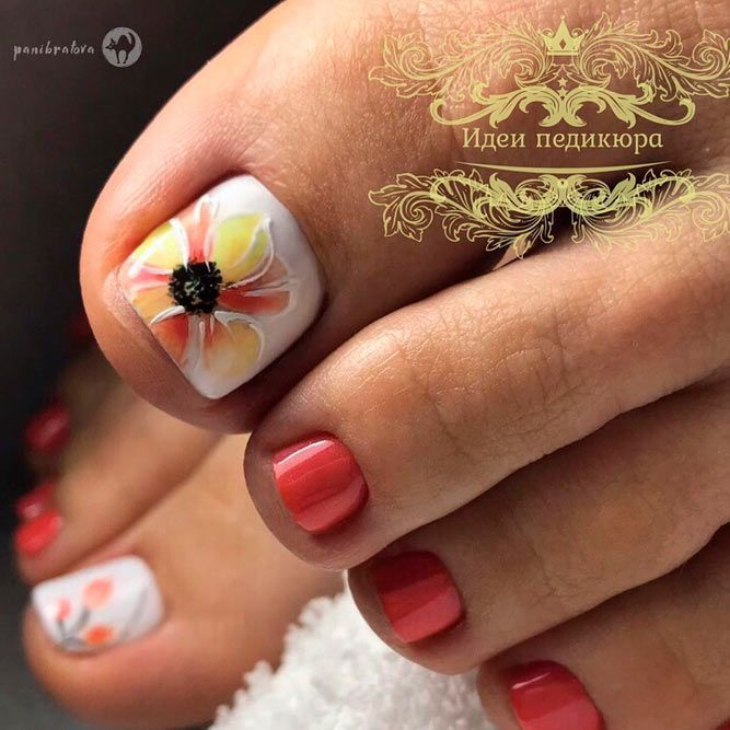 Nail Designs For Truly Fashionable Chicks Who Follow The Trends Toe Nail Designs Toe Nails Floral Nails,Simple And Easy Corner Rangoli Designs For Diwali
