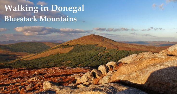 Walking in Donegal - Bluestack Mountains