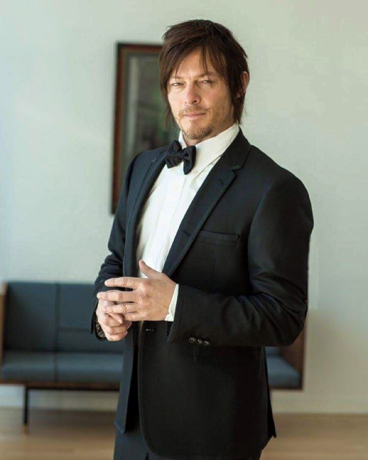 ♥ Norman in a tux! ♥