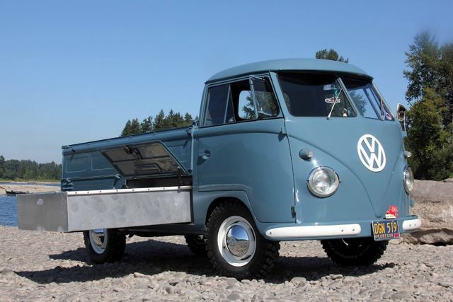 1957 Single Cab VW Transporter For Sale @ Oldbug,com