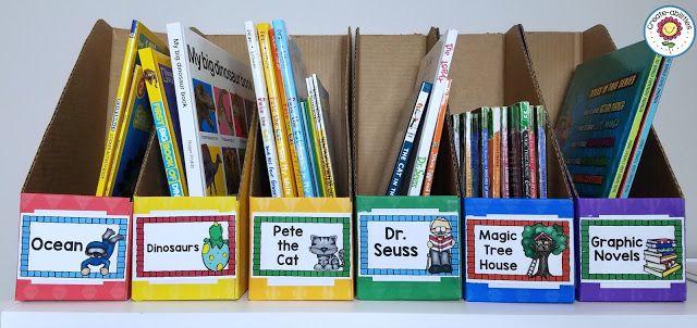 Gardez votre bibliothèque de classe propre et bien organisé en utilisant ces excellentes suggestions et étiquettes de livre de TPT enseignant-auteur Créer-Abilities!