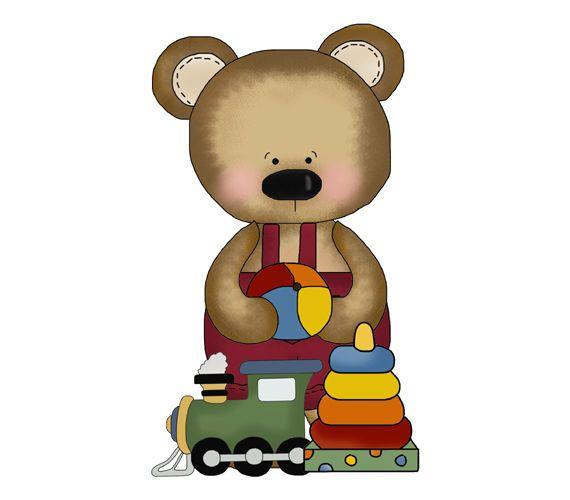 Teddy Bear Nursery Decal Sticker Wall Art Mural Baby Boy Woodland Forest Animals #decampstudios