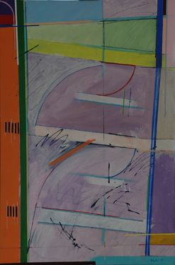 "Saatchi Art Artist Michael Newman; Painting, ""Fragmented Fugue"" #art"