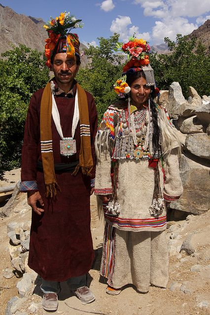 Traditional dances and culture of the Brokpa people | A tribal community in the Dha-Hanu valley of Ladakh, India.