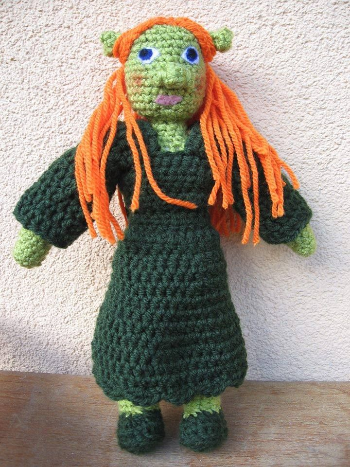 #crochet #fiona #toy