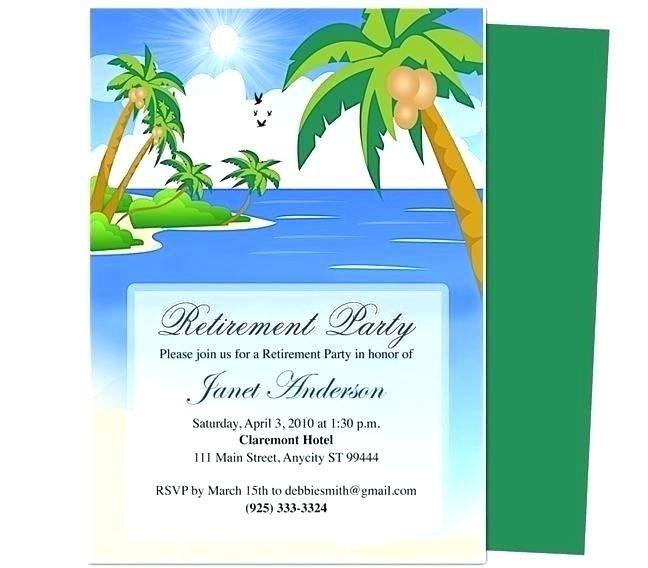 Retirement Flyer Templates Free Retirement Invitation Template