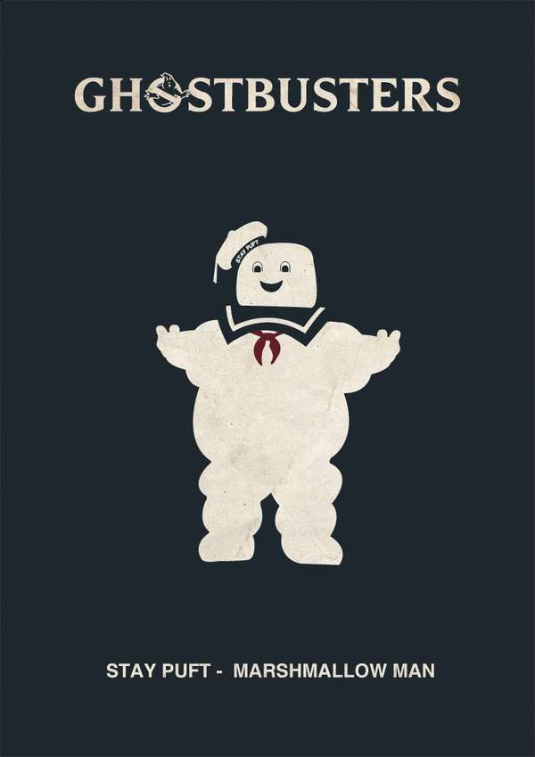 Minimalist Cult-Film Prints  Phics & Graphics Adjust Classic Movie Posters