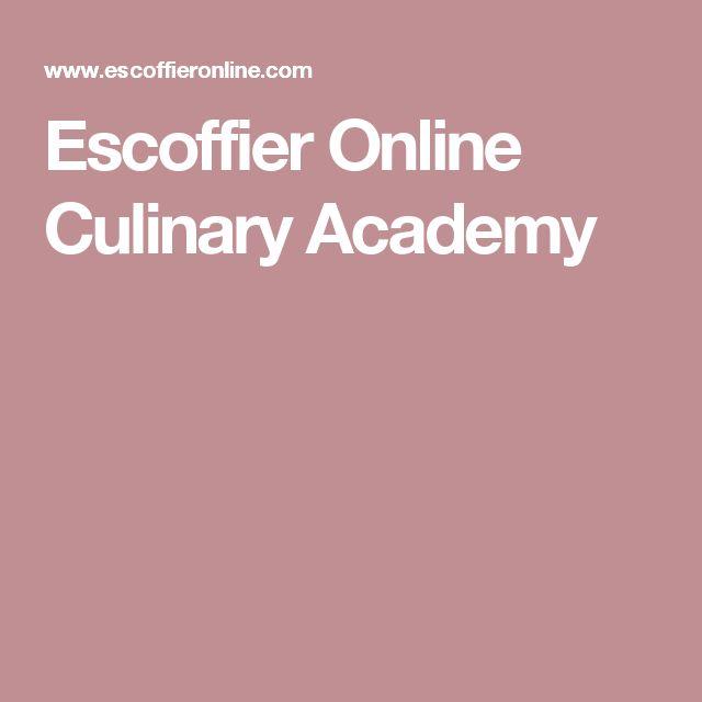 Escoffier Online Culinary Academy