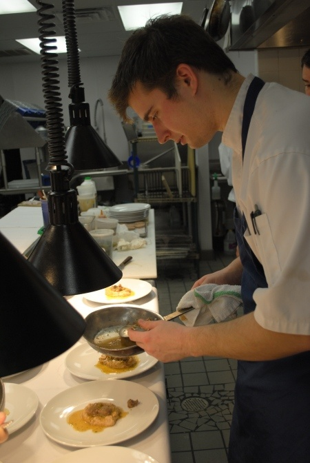 Jeremiah Langhorne Chef de cuisine @ Mccradys.  This guy is amazing.