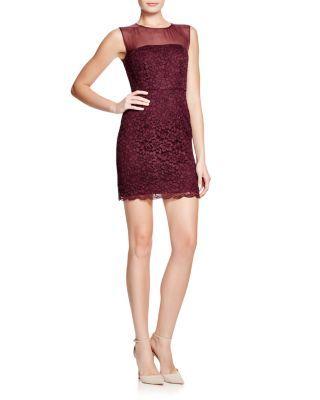 DIANE von FURSTENBERG Nisha Lace Sheath Dress | Bloomingdale's