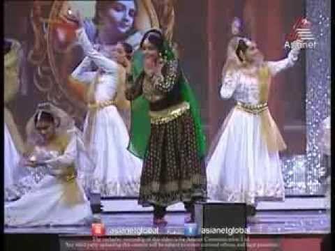 Asha Sarath Dancing for Vishwaroopam Song at Asianet Film Awards