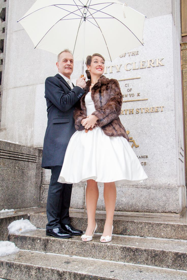 wedding ceremony new york city%0A New York City hall NYC wedding photographer Angelica Radway Photography   Bride and groom