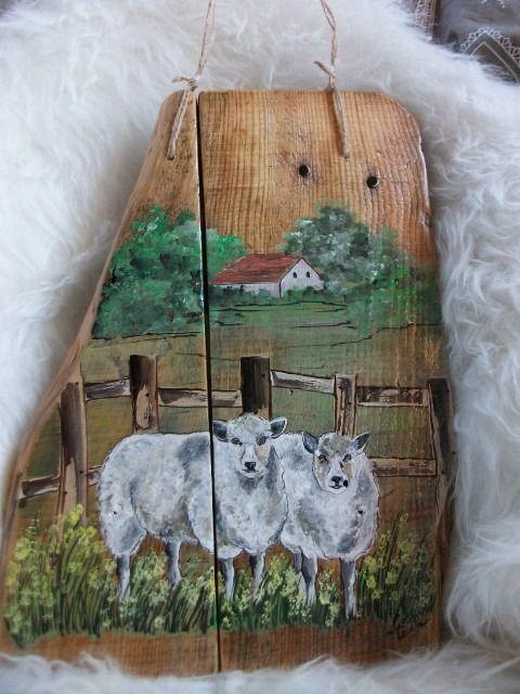 1000 id es sur le th me peinture sur bois sur pinterest peinture d corative tableau et oiseau. Black Bedroom Furniture Sets. Home Design Ideas
