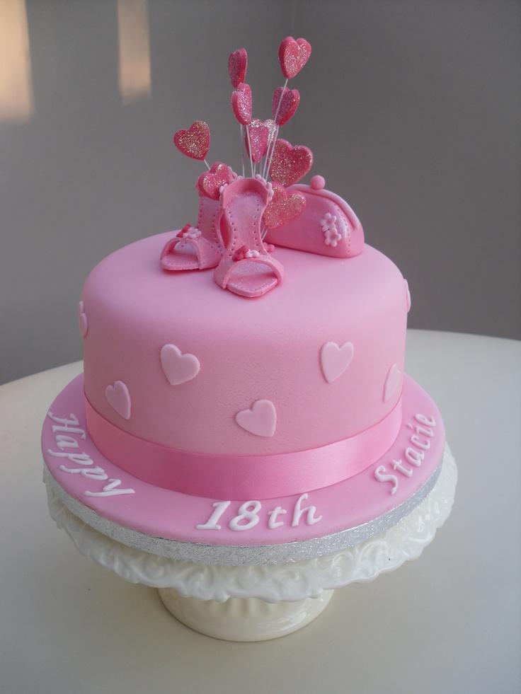 handbag and shoe cake Themed cakes/cupcakes Pinterest ...