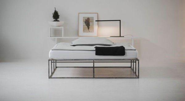 Ion 160 X 200 Cm Bett Modern Mobeldesign Mobeldesigner
