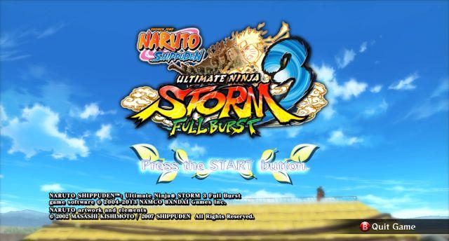 Naruto Shippuden Ultimate Ninja Storm 3 Full Burst - http://www.qurtifawijaya.com/2017/03/cara-mengatas-stik-tidak-terdeteksi-naruto-storm-3.html
