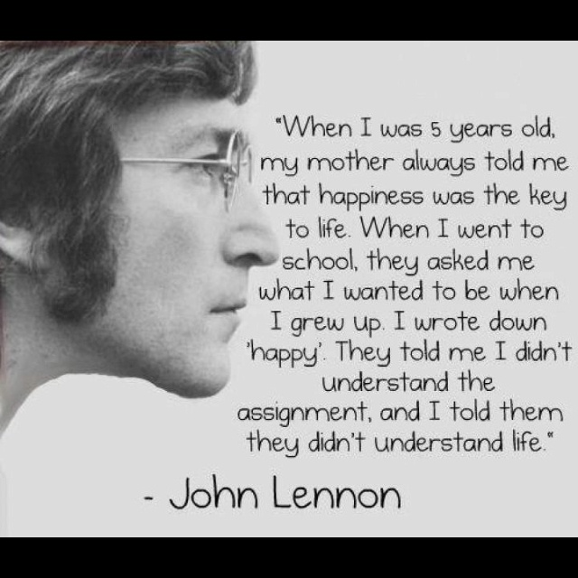 Red Velvet Voyage through inspirational minds, people who have changed the world with their beliefs and powerful actions.  Understanding life by John Lennon