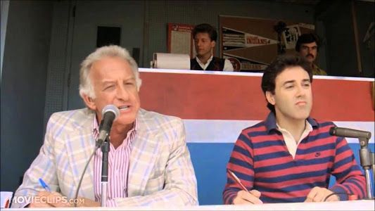 """""""Juuuuuuust a bit outside.  Tried the corner and missed.""""  Major league movie 