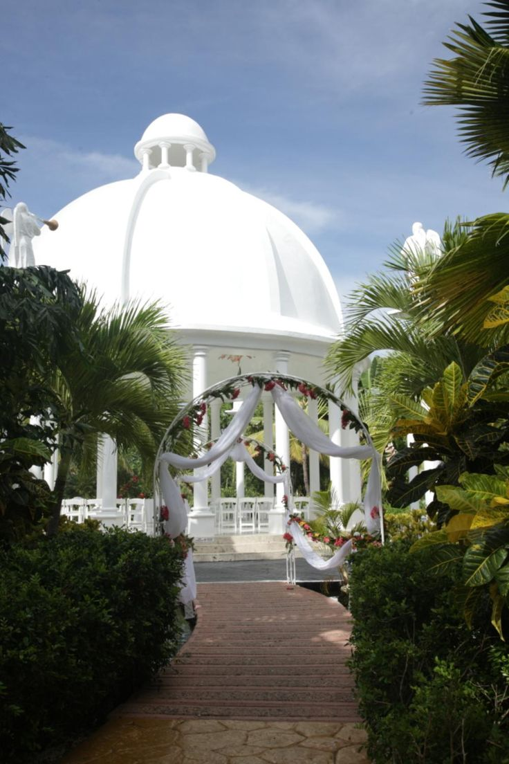 all inclusive beach wedding destinations%0A Wedding gazebo  Melia Caribe Tropical  Dominican Republic   Wedding  Photography   Pinterest   Wedding gazebo  Diy wedding projects and Weddings