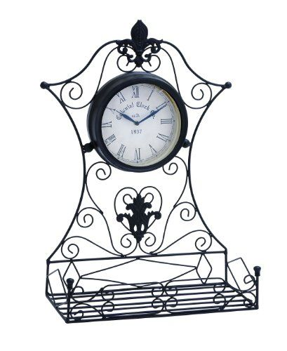 Firepit Makeover  Deco 79 35422 Metal Outdoor Clock, 16 by 23-Inch *** This is an Amazon Associate's Pin. Details on product can be viewed on Amazon website by clicking the image.