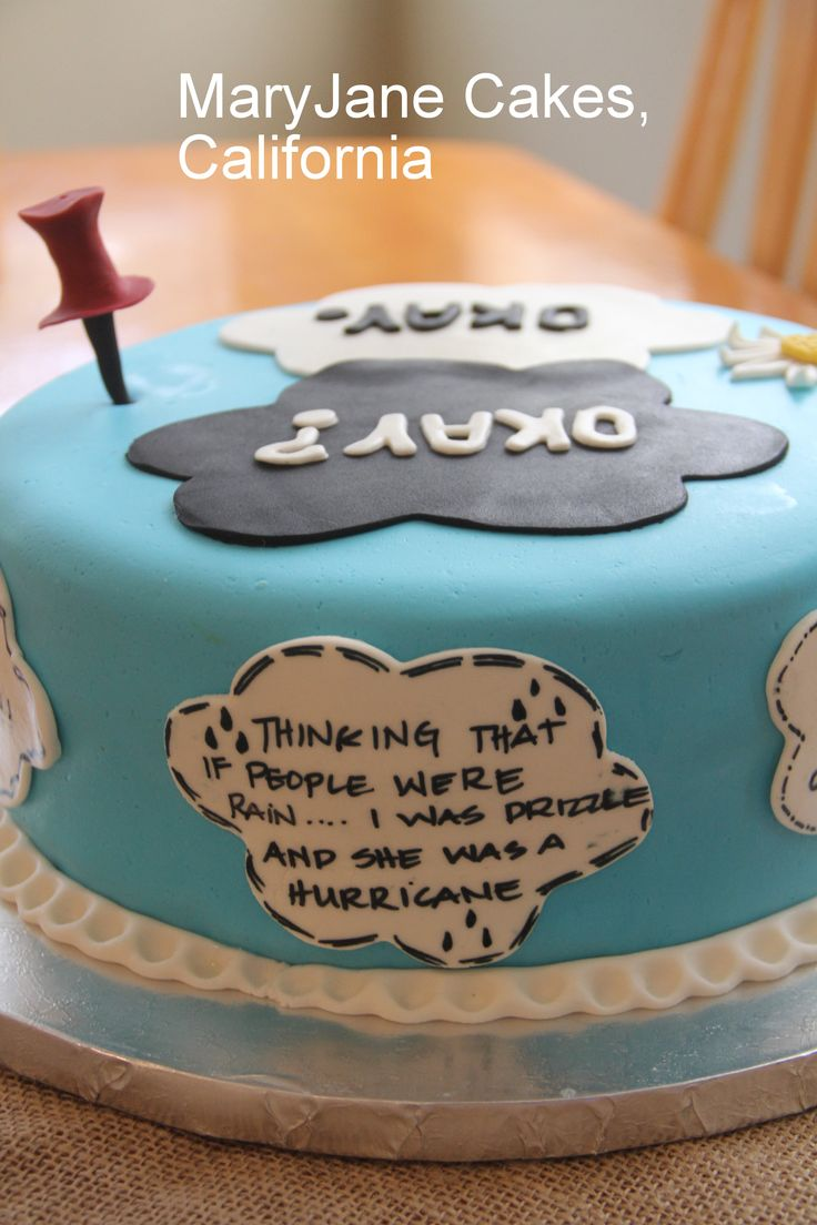 John Green Birthday Cake by MaryJane Cakes , California . TFiOS , Paper Towns , Looking for Alaska , The Fault in Our Stars , Fan Girl , Fangirl