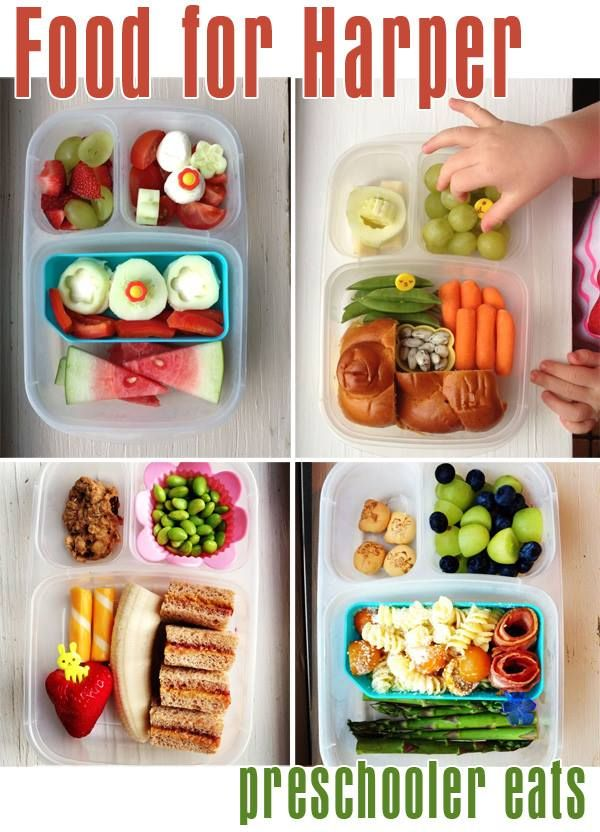 Wow! A plethora of preschooler meal ideas thanks to Becky of Food For Harper.