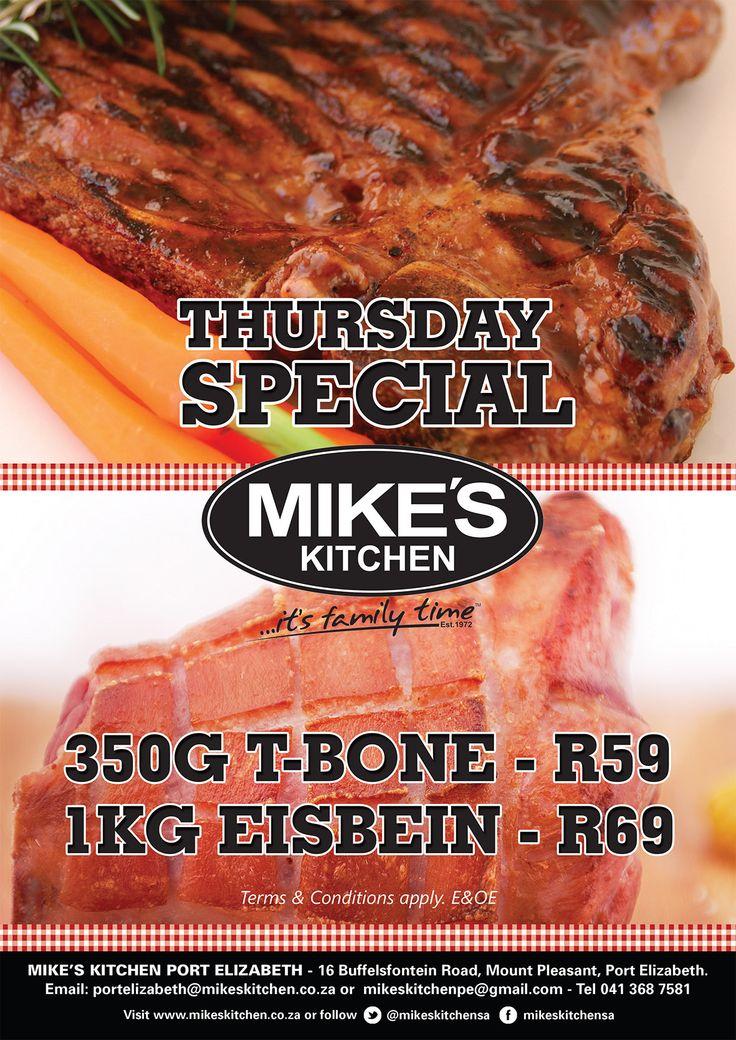 Mike's Kitchen Port Elizabeth Thursdays Special