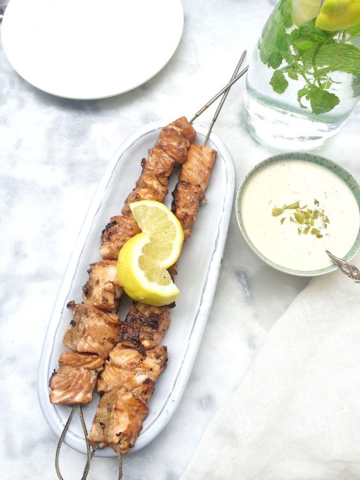 Zalm op de BBQ - Aziatische marinade. Goddelijk #recept www.madebyellen.com