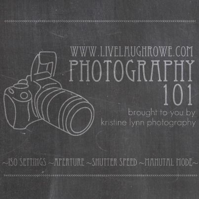 Photography 101 Series.  Part IV focuses on Manual Mode Settings.  livelaughrowe.com