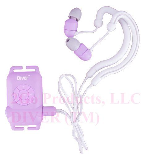 waterproof mp3 and headphones for swimming laps