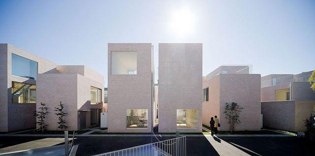 SANAA | Seijo Apartments. Iwan Baan.