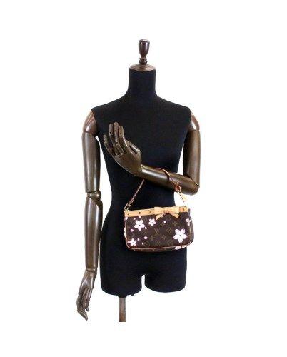 e991a4f383f4 Louis Vuitton - LOUIS VUITTON Monogram Cherry Blossom Pochette Accessoires  M92006 90043817..