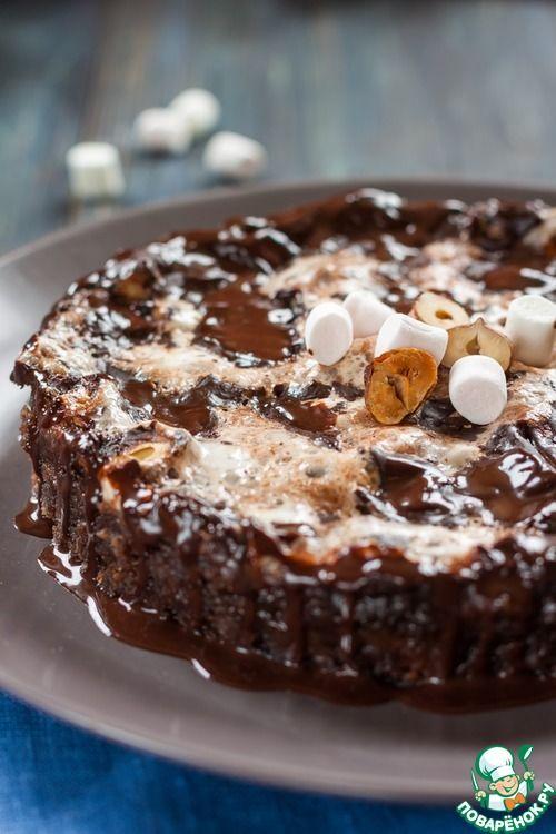 """Шоколадный торт """"Грязь Миссисипи"""""""