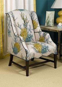 Elegant Wesley Hall Swivel Chair