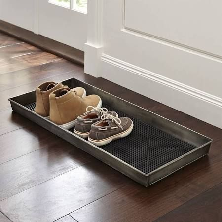 entryway shoe mat- Crate and Barrel