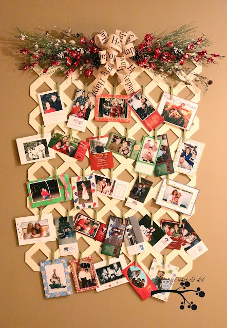 Christmas Card Holder Christmas Decorating Ideas Pinterest Card Holders.