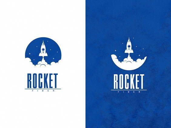 30 logos de fusées avec des idées créatives et originales pour votre inspiration